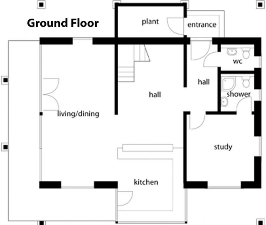 These German Style House Plans Blend Classic Lines With Modern Elements Which Give The Place Both Comfort And A Catchy Look