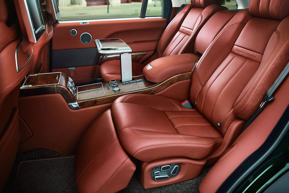 Range Rover Teams Up With Holland Holl On The Most Luxurious Suv Ever
