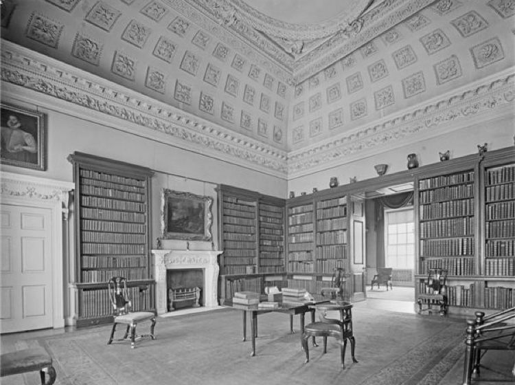 Large Library At Wentworth Woodhouse Formerly The State Dressing Room Wentworth Woodhouse English Country House Historic Homes