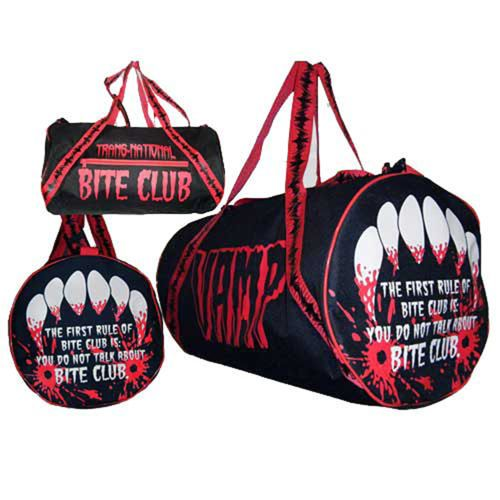 NN Kreepsville 666 Barrel Bag Vamp Bloody Fangs Vampire Horror Gore Halloween | eBay