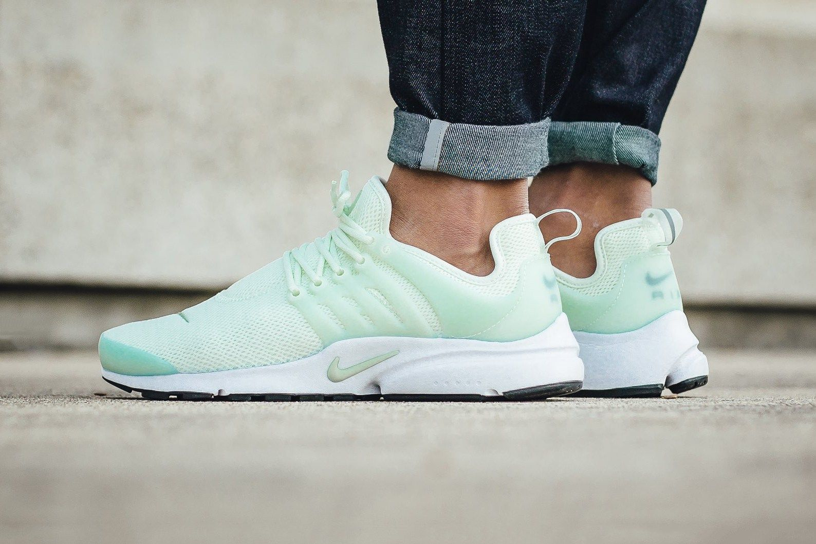 387e43a6cbdb Minty Pastel Green Hits the Nike Air Presto