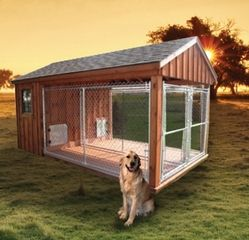 Interesting Dog Kennels I Love German Shepherds And