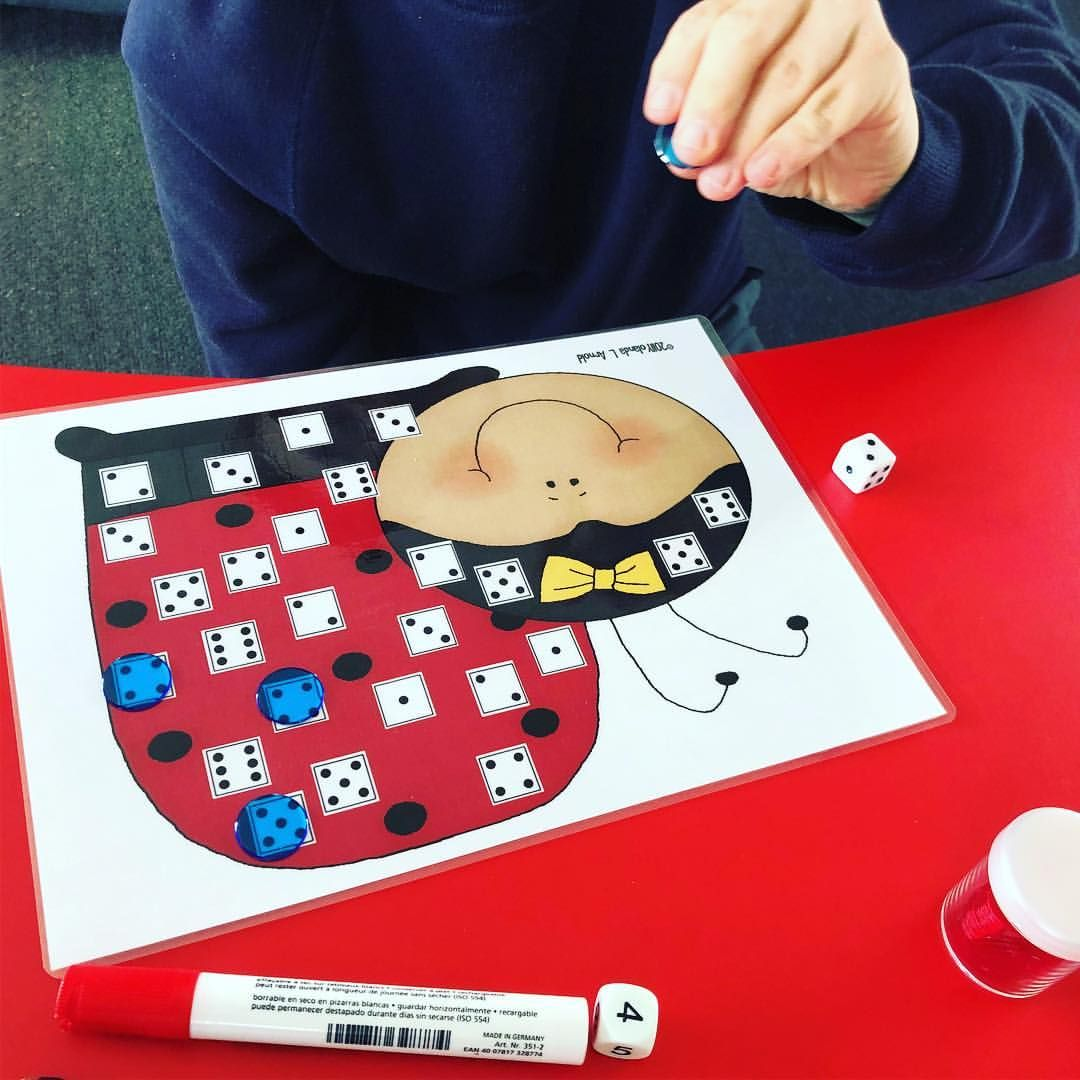 Maths Counting And Matching Roll The Dice Count The Dots