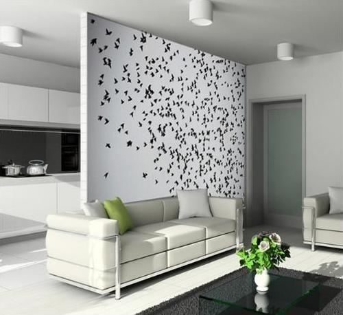 Vinilos Adhesivos Pared  Decoración Con Vinilos  Pinterest Endearing Best Living Room Wallpaper Designs Design Decoration