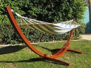 amazon    new wooden curved arc hammock stand w  hammock  patio amazon    new wooden curved arc hammock stand w  hammock  patio      rh   pinterest