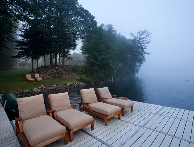 Dock. Boat Dock Ideas. Dock Design. Lake House Dock #Dock John ...
