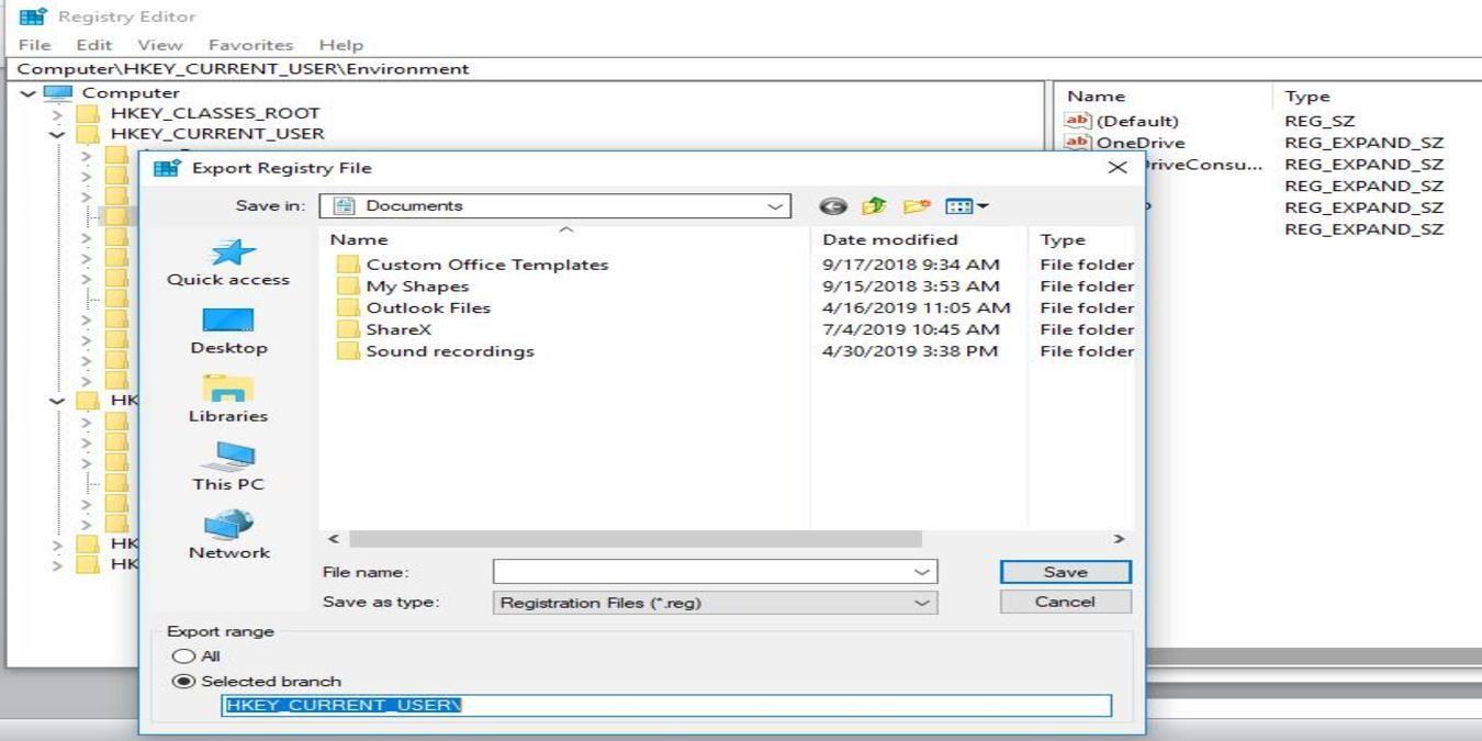 How To Restore Registry Backup In Windows 10 Windows Registry