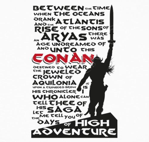 Camiseta Days of high Adventures (CONAN) - nº 1051960 - hesidoyo