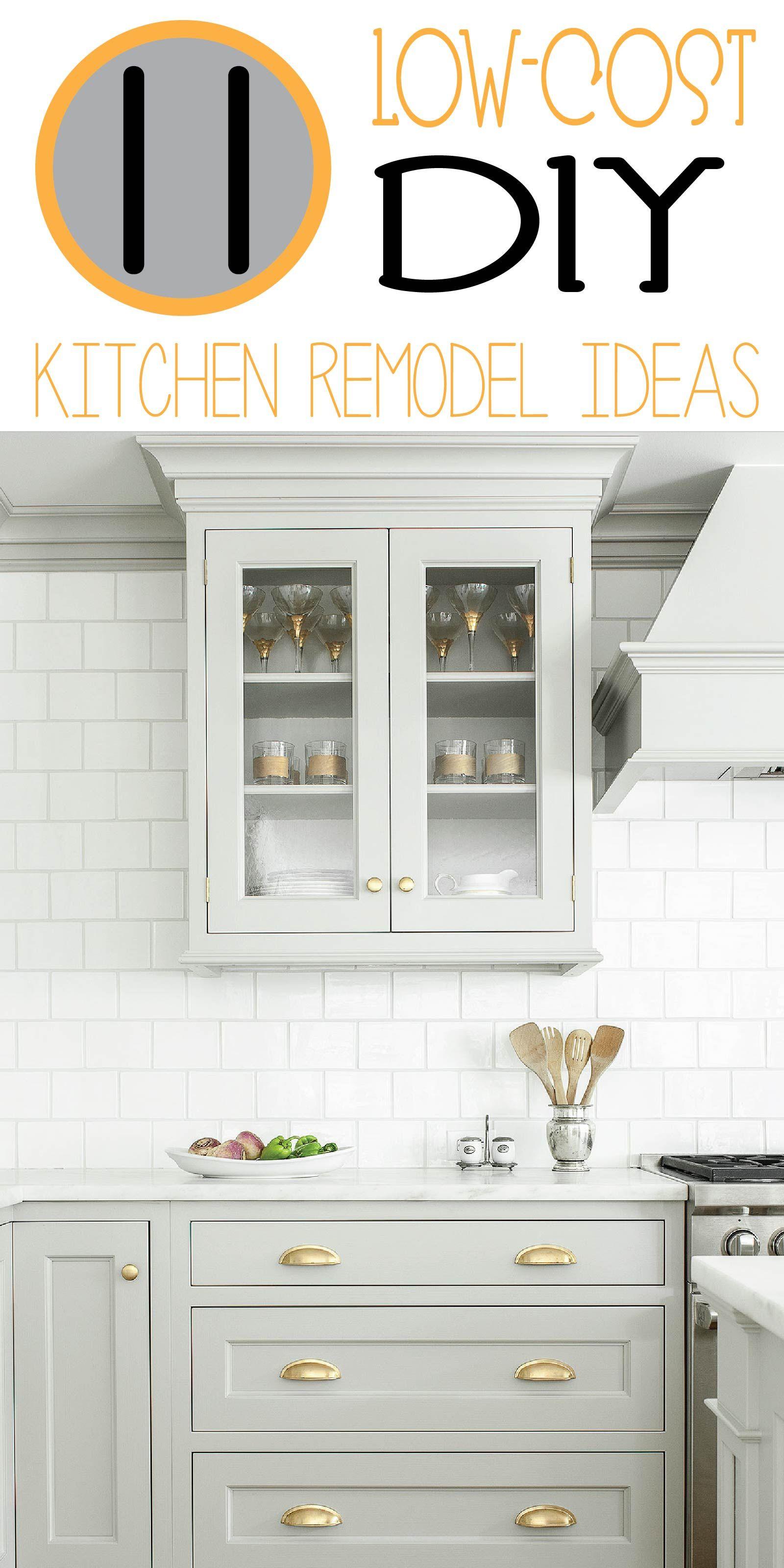 11 Ways to DIY Kitchen Remodel! | Diy kitchen remodel, Kitchens and ...