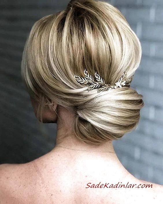 Abiye Topuz Sac Modelleri Sac Sacmodelleri Topuz Abiye In 2020 With Images Hair