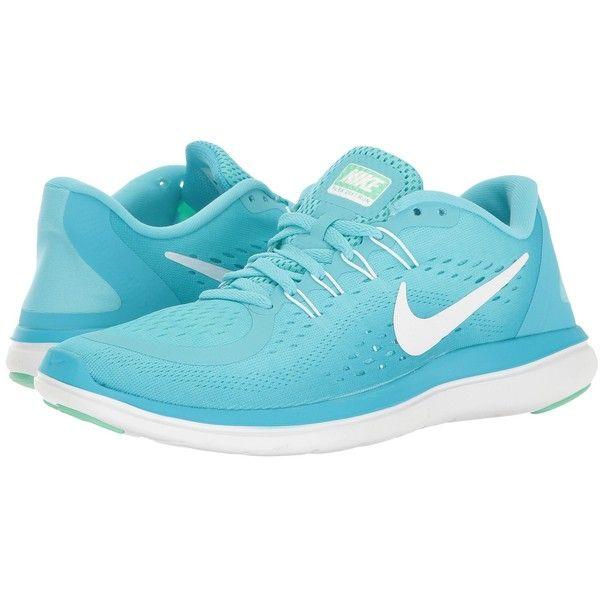 brand new 04267 40a68 Nike Flex RN 2017 (Polarized Blue White Chlorine Blue) Women s Running.  Visit