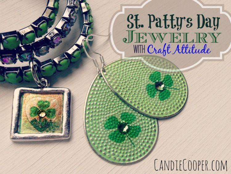 Jewelry Attitude craft film for DIY St Patrick's Day  jewelry!