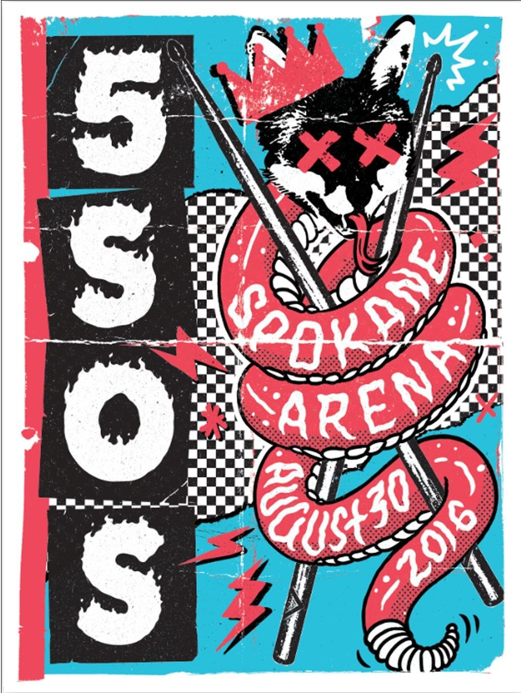 5sos poster design - Poster