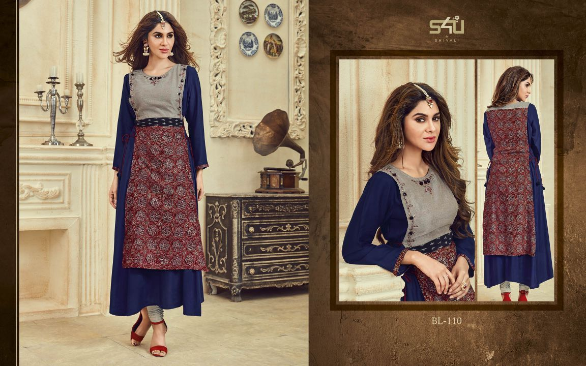 95fb42ab4b S4U BY SHIVALI FESTIVE SPECIAL KURTI COLLECTION BLOSSOM VOL 3 CATALOGUE  WHOLESALE PRICE CONTACT DETAIL: For more info or order You Can #Contact Or  #Whatsapp ...