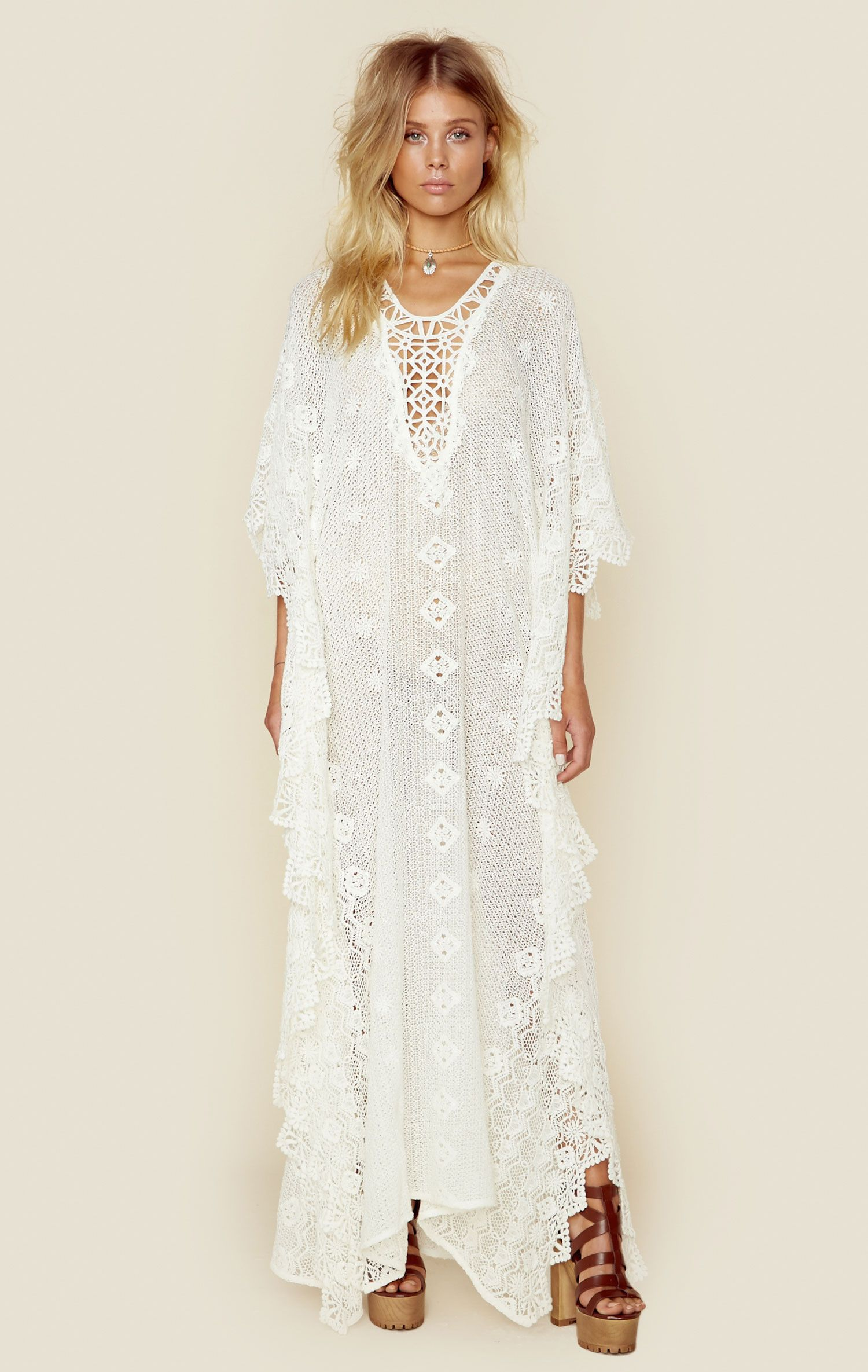 661b98216d RITUAL MYKONOS KAFTAN Hot Summer Outfits, Culture Clothing, Romantic  Outfit, Boho Outfits,