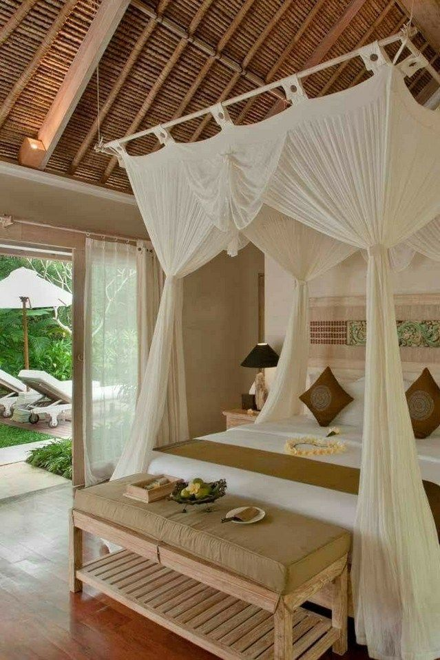 15+ Modern Shabby Chic Bed Canopy Designs Ideas in 2020 ...