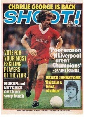 Shoot Cover 24 04 82 Liverpool Graeme Souness Football Magazine Picture Poster Liverpool Magazine Pictures Football