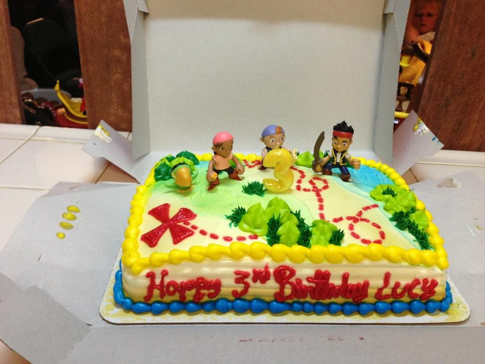 Bought her cake from Safeway It was actually a spongebob treasure