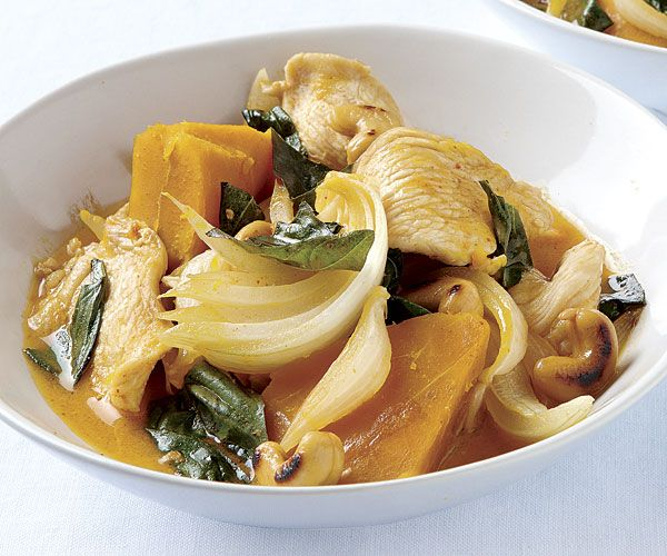 Curried Chicken Stew With Squash And Cashews Recipe Cashew