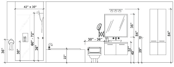 Standard Height For Bathroom Vanity Full Image For Mounting Height With Standard Height For Bathr Bathroom Dimensions Bathroom Floor Plans Bathroom Renovation