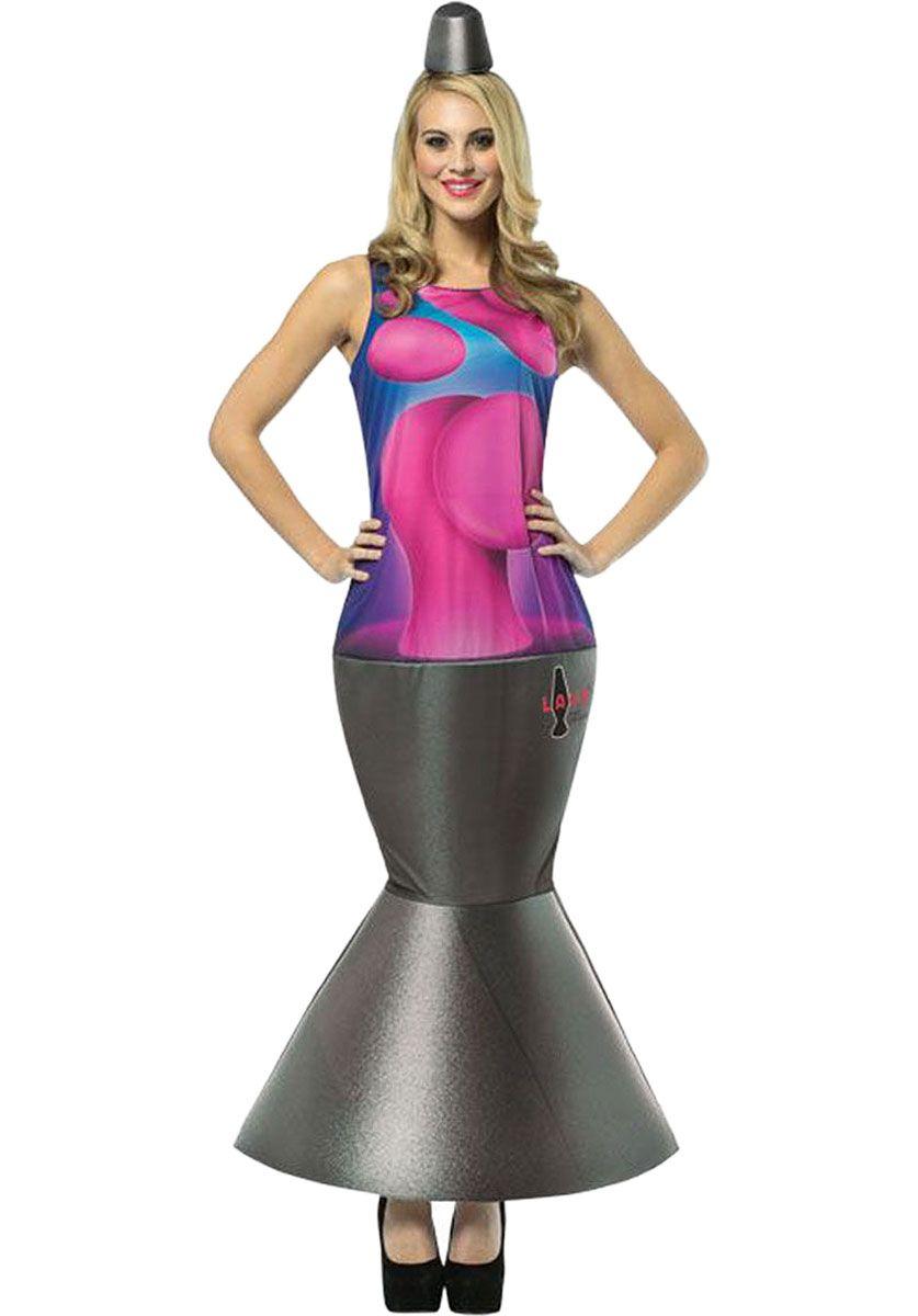 Female Lava Lamp Costume 70s Fancy Dress 90s Fancy Dress Fancy Dress Online