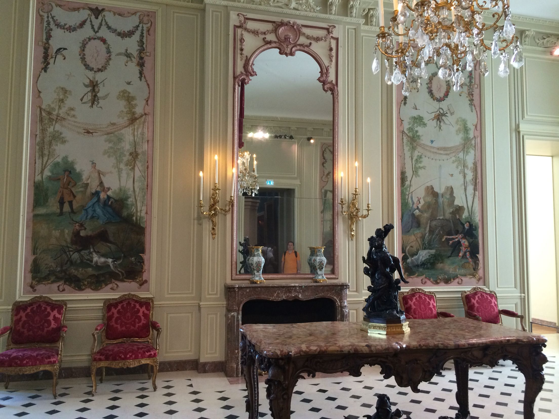 salon louis xv arts d coratifs du louvre nouvelles salles louvre pinterest cr ations. Black Bedroom Furniture Sets. Home Design Ideas