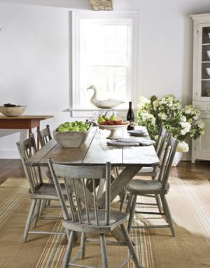 Nancy Fishelson's Revamped 1795 Clapboard Connecticut House Amusing Dining Room Sets In Ct Inspiration Design