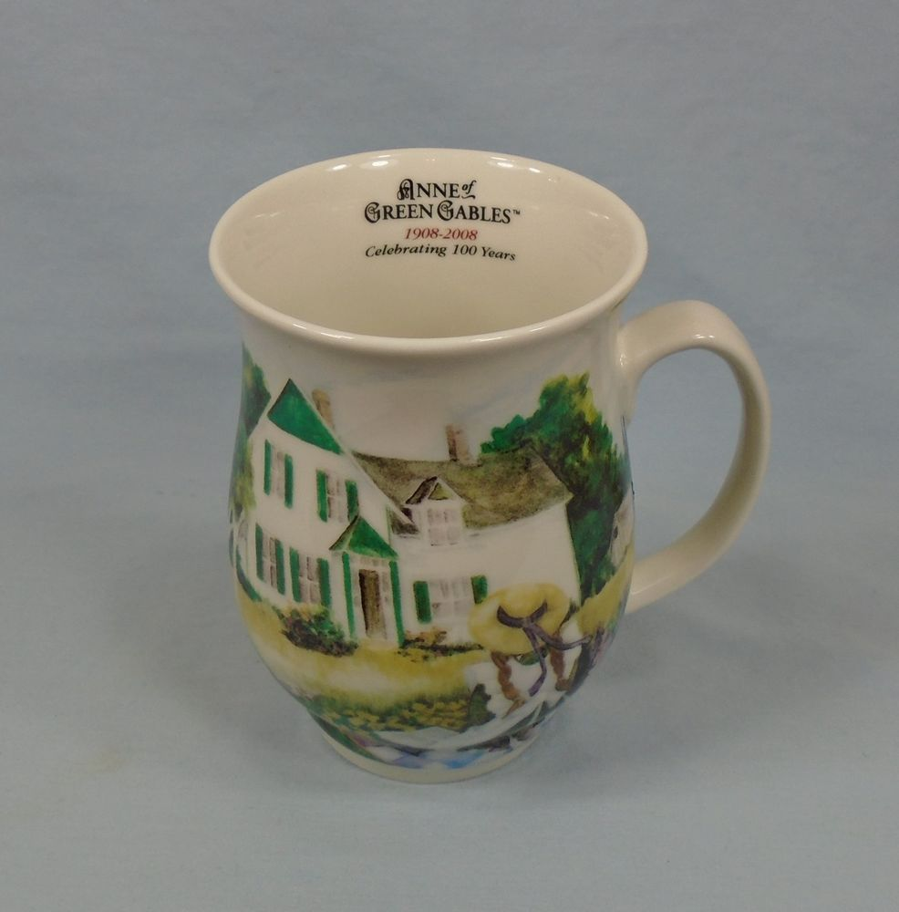 Anne Of Green Gables New Bone China Coffee Tea Cup Mug 100th Anniversary 10oz Mugs Green Gables Anne Of Green