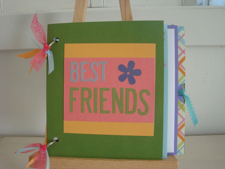 Best friend scrapbook ideas - Best Friends Scrapbook Best Friends Photo Album Best Friends Mini Album Best Friends