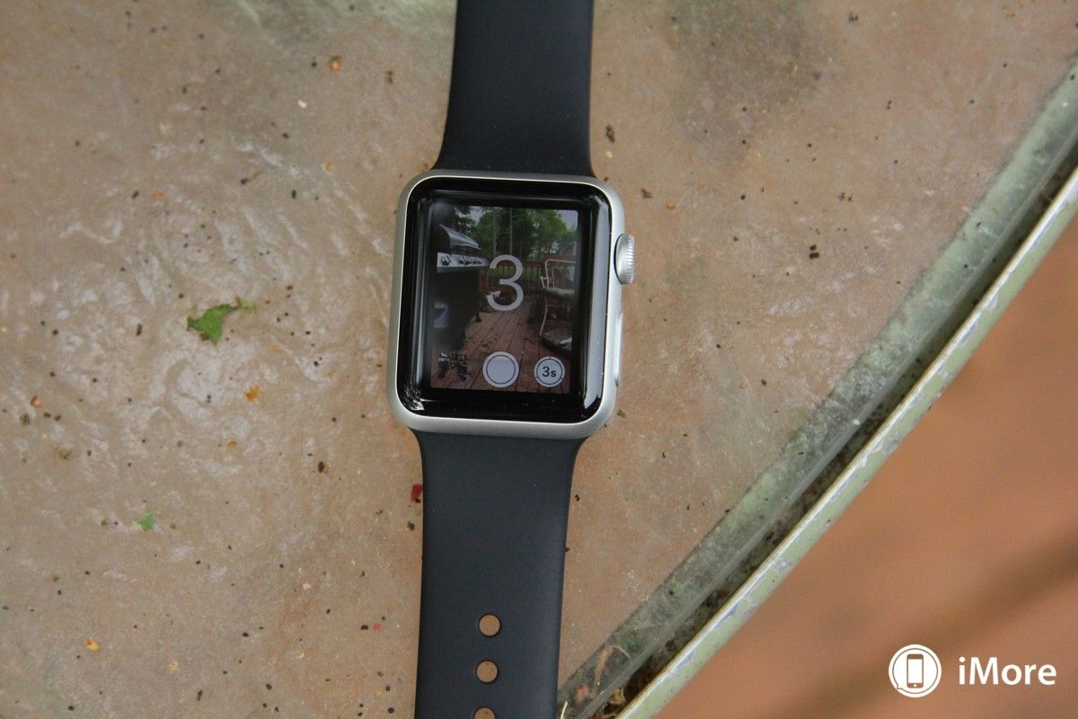 How to use the apple watch to take photos with your iphone