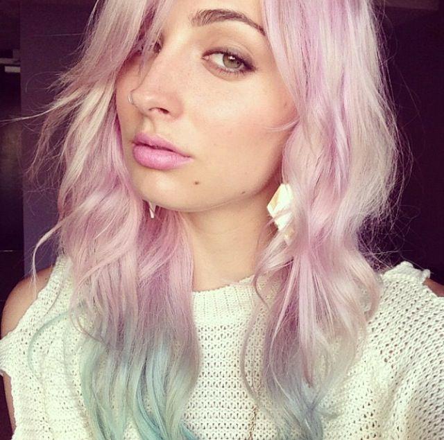 Brittany Balyn pastel hair