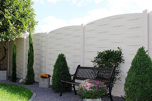 Becker Betonzaun beckers betonzaun vertriebspartner garden ideas