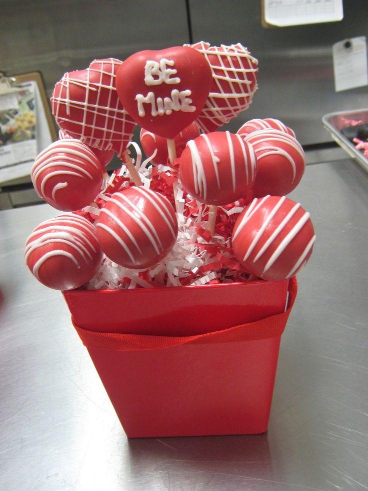Cake Pop Bouquet With Images Valentine Cake Pop Valentines