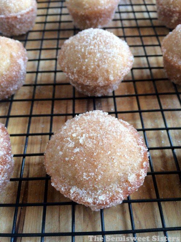 Mini Apple Cider Donut Muffins