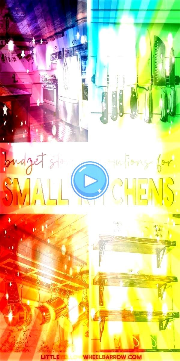 to Expand your Small Kitchen Storage  12 Inexpensive Solutions to Expand your Small Kitchen Storage  12 Inexpensive Solutions to Expand your Small Kitchen Storage  Organi...