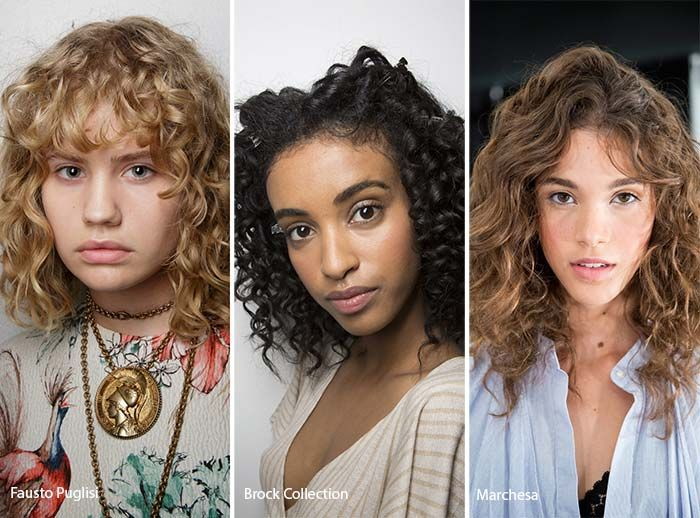 Spring Summer 2017 Hairstyle Trends Curly Hair