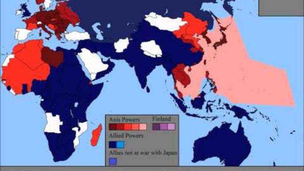 Russia Map After Ww2%0A Bekijk in deze zogenaamde Time Laps het verloop van de Tweede Wereldoorlog   Zeer nauwgezet weergegeven