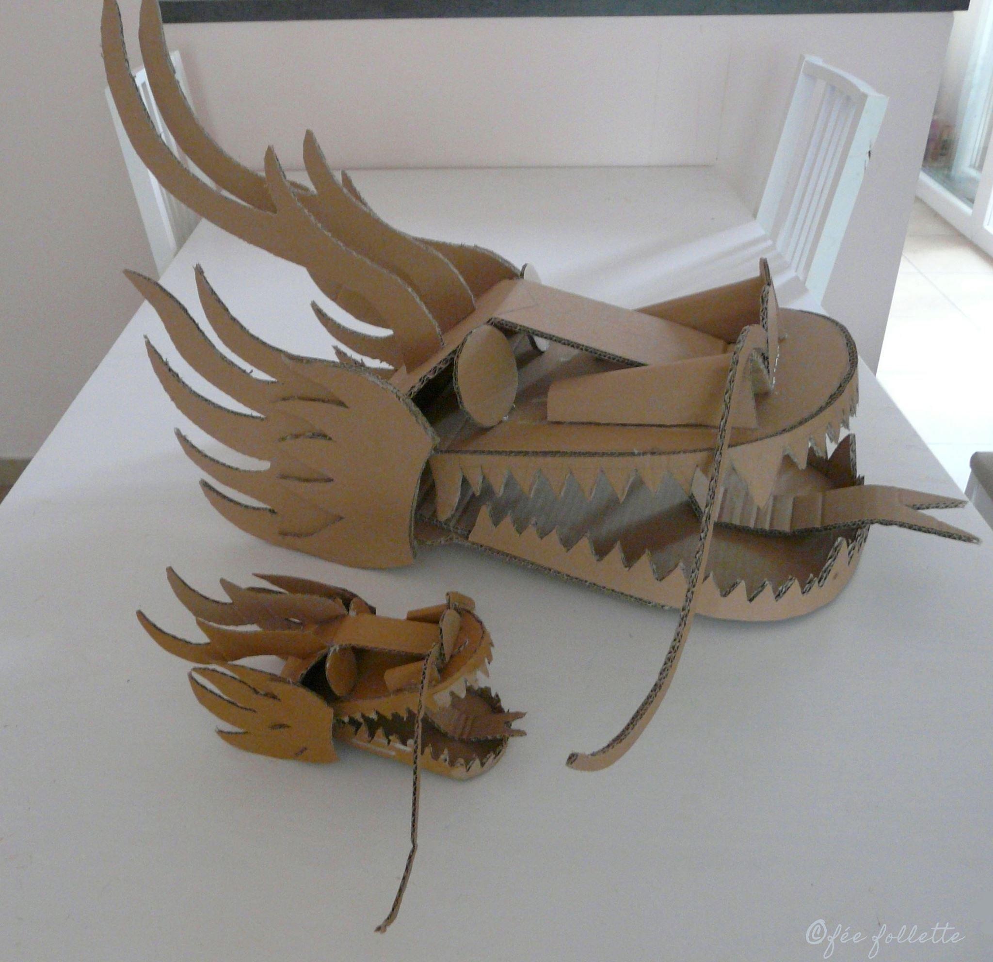 Têtes de dragon / Dragon heads https://www.facebook.com/feefollette ...