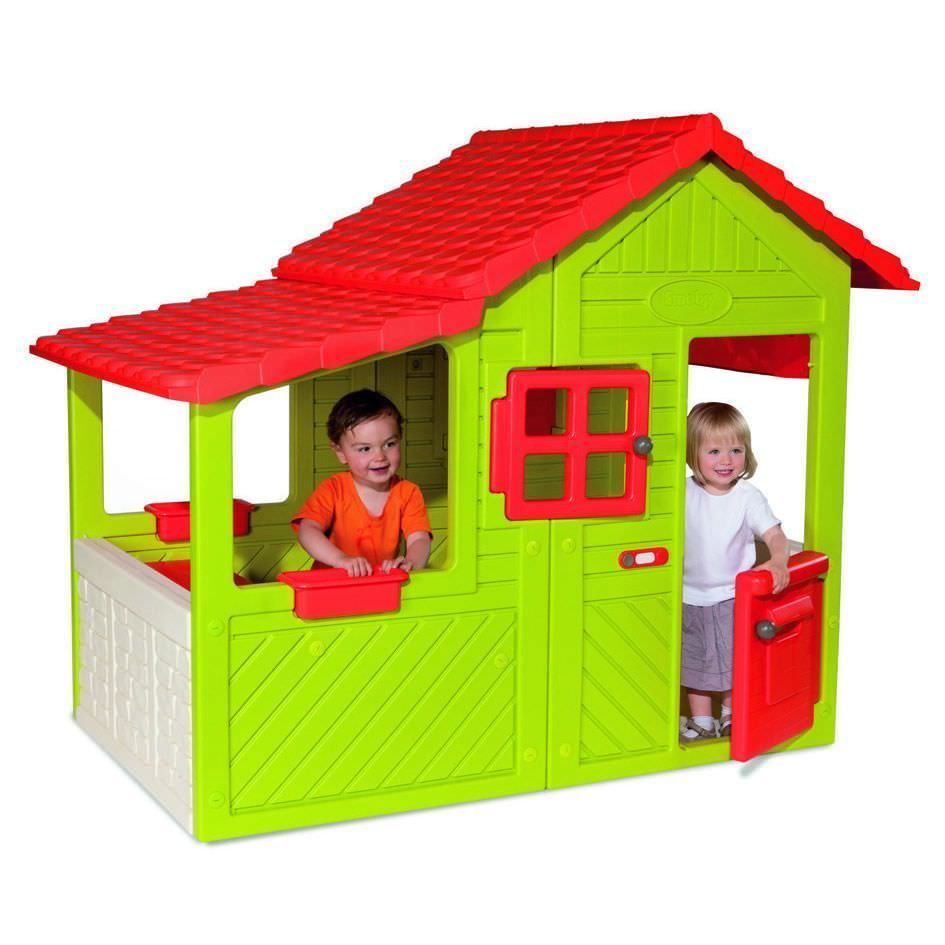 Smoby Friends House | Garden | Pinterest | Picnic tables, Playhouses ...
