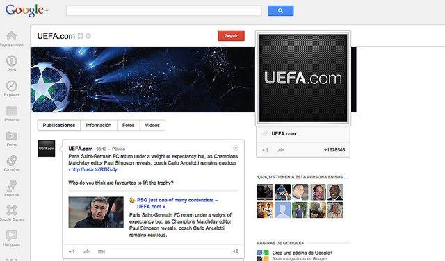 Ejemplos de Google Plus by MSEO.net, via Flickr