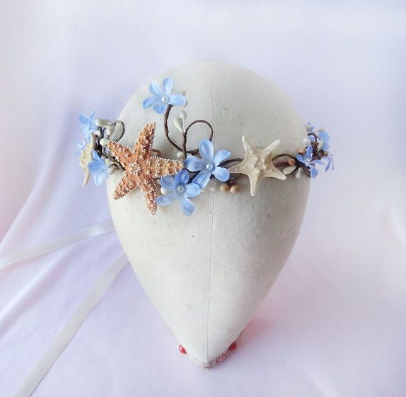Hey, I found this really awesome Etsy listing at http://www.etsy.com/listing/151079298/seashell-hair-accessory-starfish