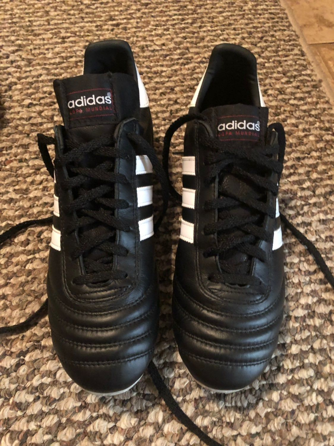 Cleats adidas brand copa mundial model size 75 mens