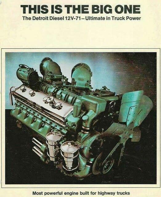 Detroit Diesel, Diesel Trucks, Truck