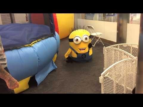 Minion fun a Tye Zone in crossroads mall - YouTube