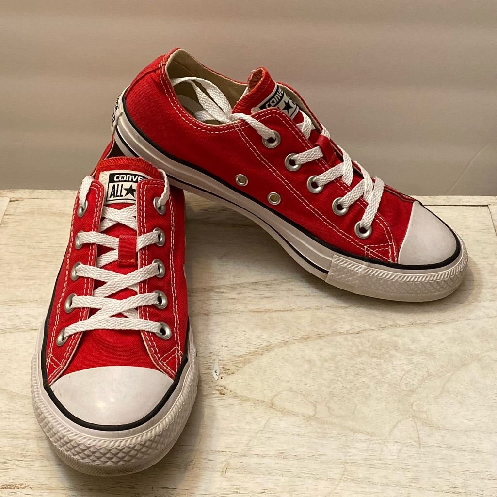Red Converse All Star in 2020 | Red