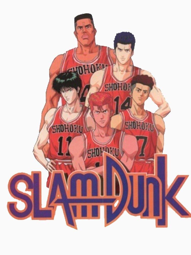 Slam Dunk T Shirt By Omaging321 Aff Sponsored Dunk Slam Shirt Slam Dunk Anime Slam Dunk Manga Slam Dunk Slam dunk anime iphone wallpaper