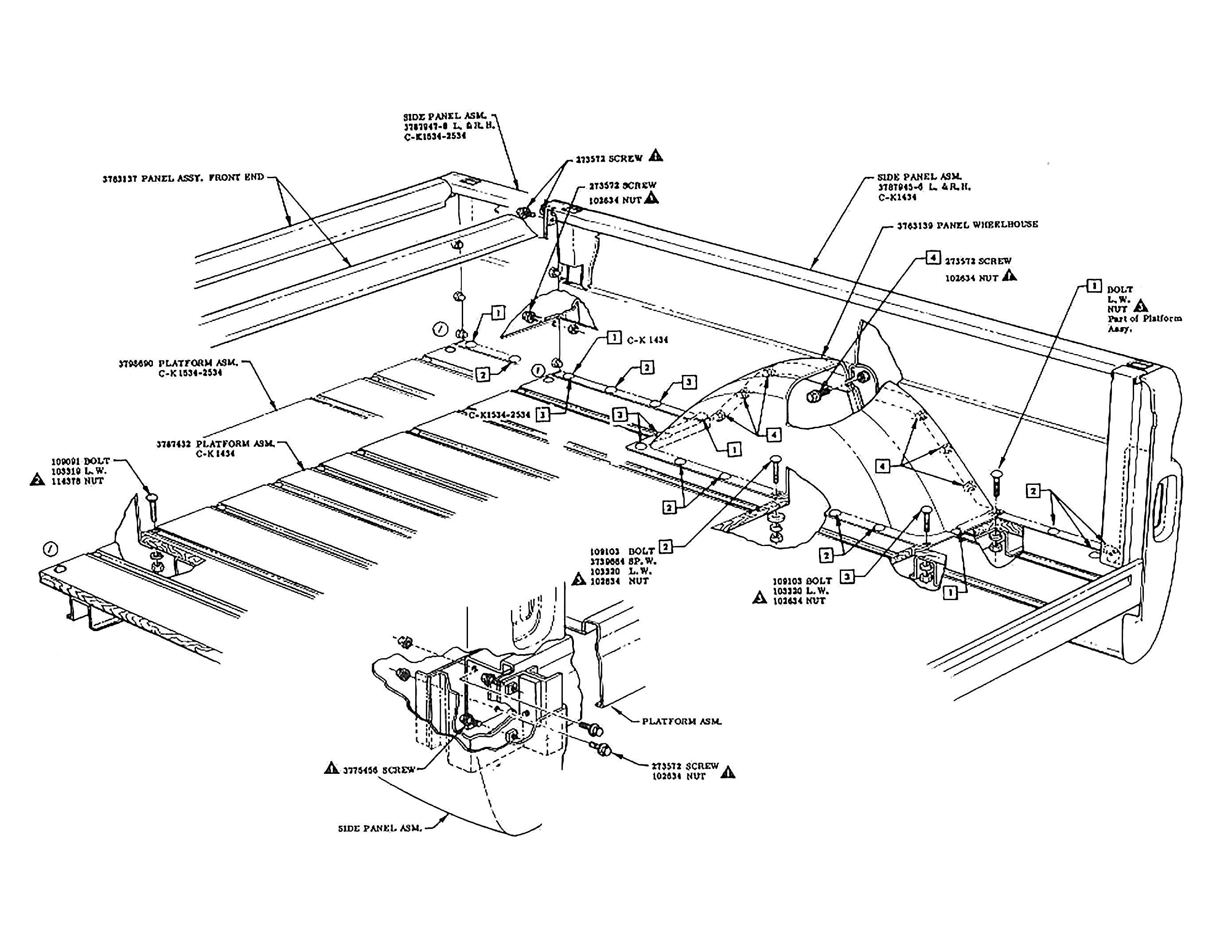 84 chevy truck wiring diagram renault master 2005 c10 grill database old phantom bed fleetside 60s