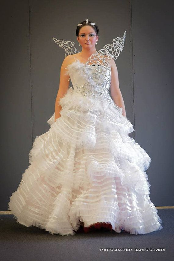 Katniss wedding dress ONLY CAGE WINGS by VeerenaCosplay on Etsy ...