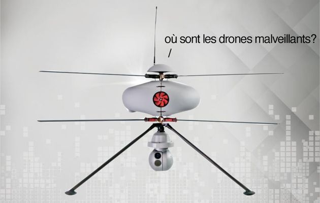 Photo of France's anti-drone drone can spot malicious pilots in under a minute