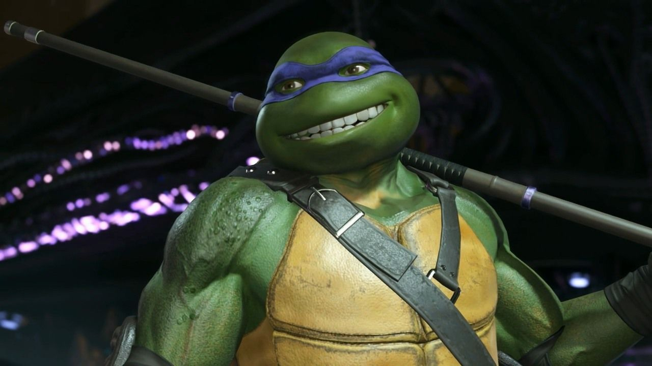 Injustice 2 Teenage Mutant Ninja Turtles Gameplay Trailer The Fearsome Foursome Known As The Tmnt Jump In Ninja Turtles Teenage Mutant Ninja Turtles Injustice